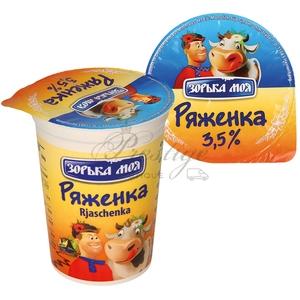 Ряженка 3,5% жирности