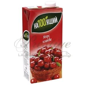 Морс с соком ягод клюквы