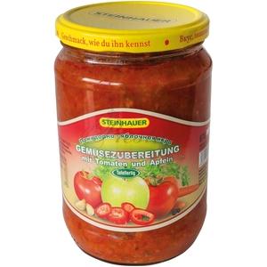 Salade de tomate et pommes...