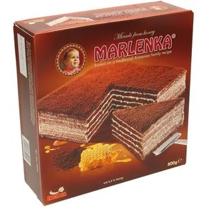"""Какао-молочный торт """"Марленка"""""""