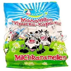 """Caramels au lait """"Korovki""""..."""