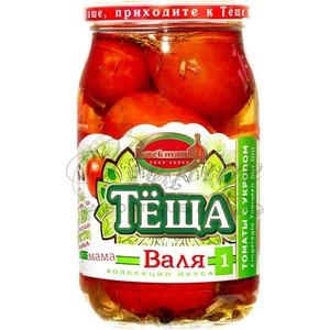 Tomates marinées à l'aneth...