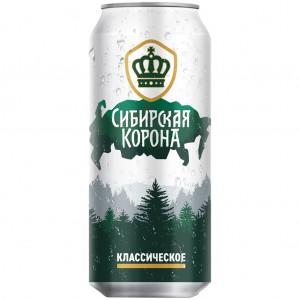 """Пиво светлое """"Сибирская..."""